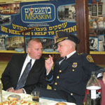 Police Chiefs Recognized at Misaskim Volunteers' Melava Malka