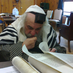 Sefer Torah in Memory of Leiby <i> a&quot;h </i> Underway