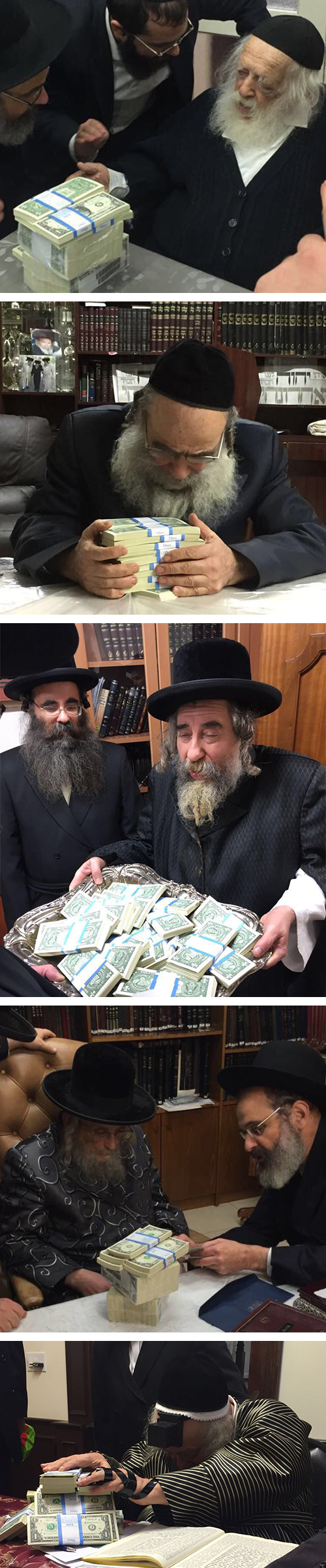 Misaskim Gives 2,000 Yesomim And Almanos Chanukah Gelt Blessed By Gedolei Hador