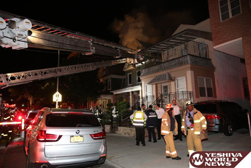 "TRAGEDY IN BORO PARK:  Frum Couple R""L Killed In House Fire On 44th Street"
