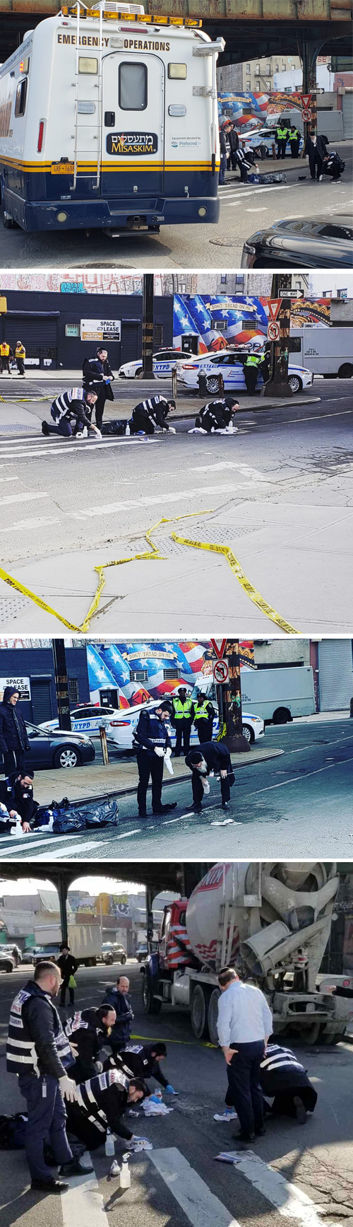 TRAGEDY IN BORO PARK: Elderly Jewish Man Struck & Killed By Truck on McDonald Ave