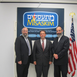 City and State Officials Visit Misaskim